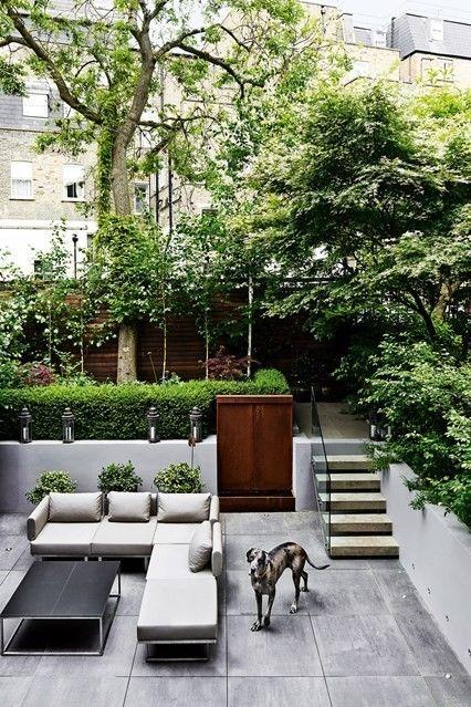 Gestaltungsideen terrasse luxus outdoor möbel