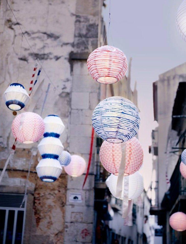 Ikea garten Paper Lantern Ideen