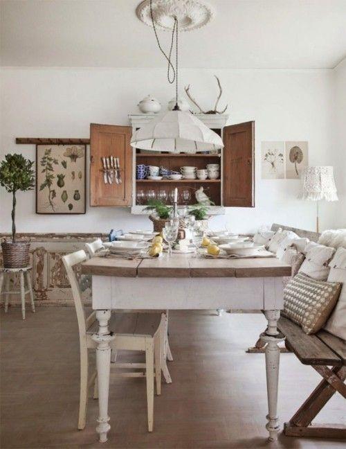 Küche im Stil Provence: häuslicher Komfort wird mit dem Geist der ...