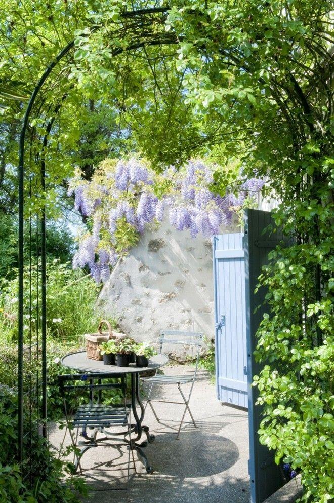 Kleine gärten ideen pflanzen möbel