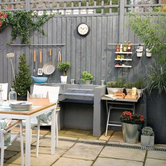 Kochecke im Garten