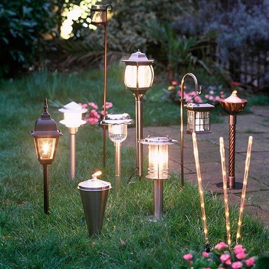 Lampen für coole gartenparty