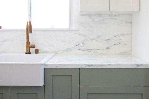 Moderne Küchenarbeitsplatten Marmor