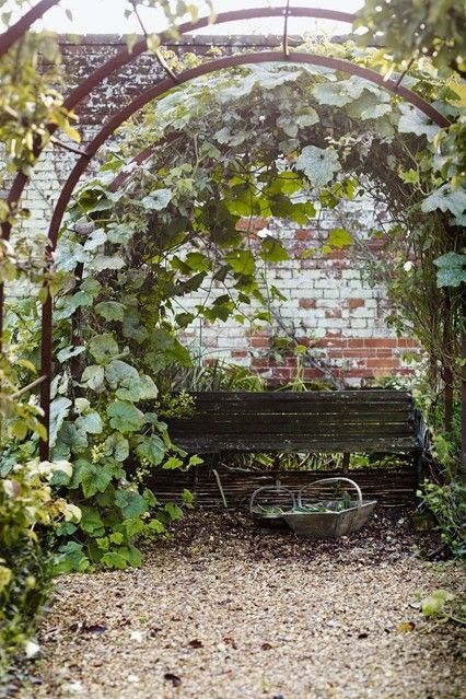 Romantischer Landhausgarten