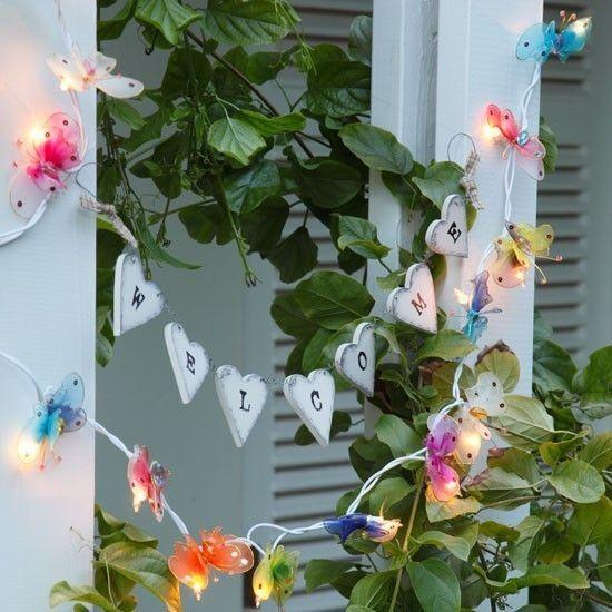 Schöne Idee Gartenparty organisieren