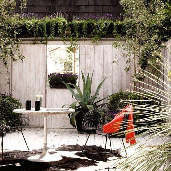 Sichtschutz Holz Gartenzaun