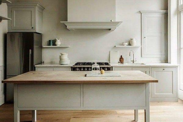Skandinavische möbel küche arbeitsplatte aus holz