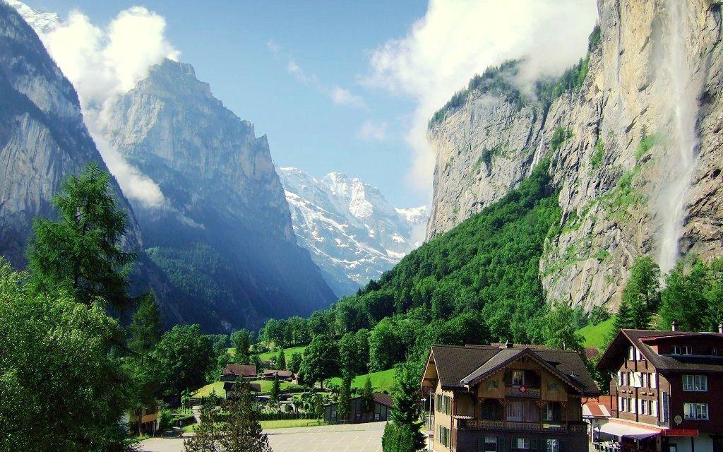 Sternzeichen Reiseziel Jungfrau Lauterbrunnen in der Schweiz