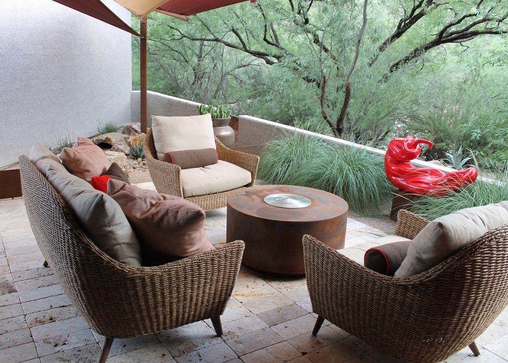 25 gro artige ideen f r kleinere patios. Black Bedroom Furniture Sets. Home Design Ideas