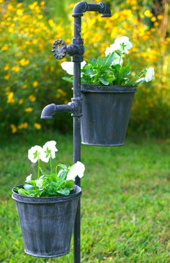 Wasserhahn für den Garten