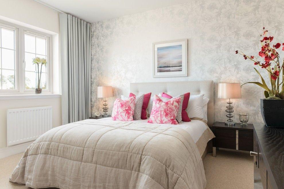 Wohnideen schlafzimmer design modern Deko- Kissen