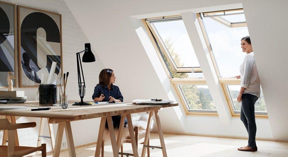 modernes Heimbüro gestalten Loft home office