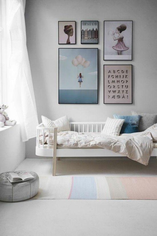 Stilvolles Kinderzimmer In Weiß Und Blau Selbst Streichen