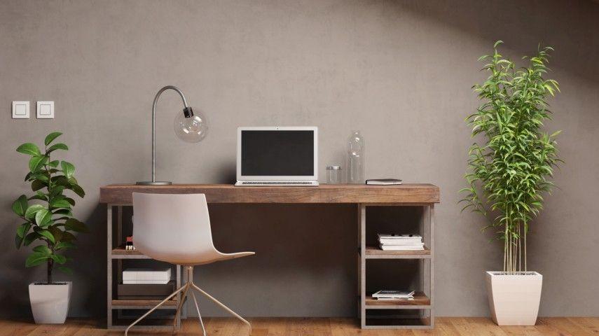 Die Gute Organisation Der Arbeitsecke Ist Eine Sehr Wichtige Voraussetzung  Für Die Optimale Produktivität, Wenn Sie Von Zuhause Aus Arbeiten.