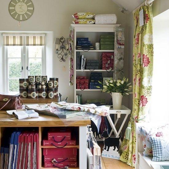 Atelier Home Office Vorh'nge Gardinen Muster