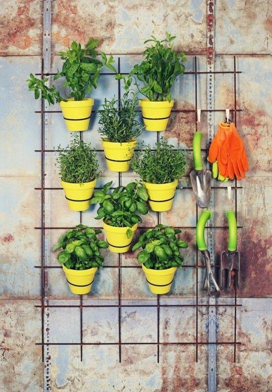 Balkon Ideen Vertikale Gärten