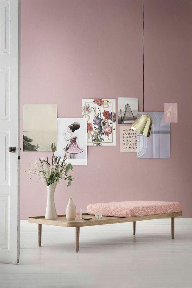 Design Innengestaltung Trendfarben Serenity und Rose Quartz