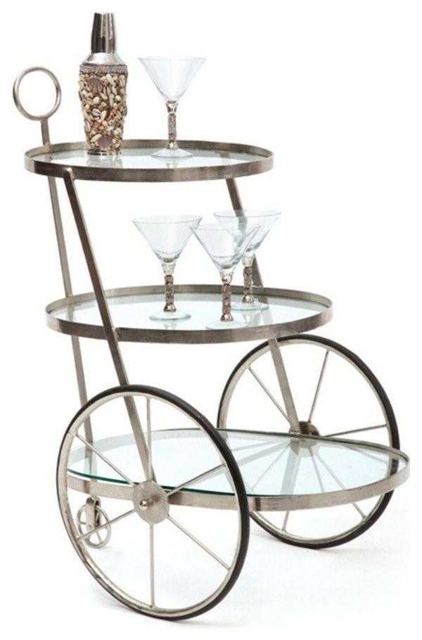 Designer Bar-Wagen Modern Ideen