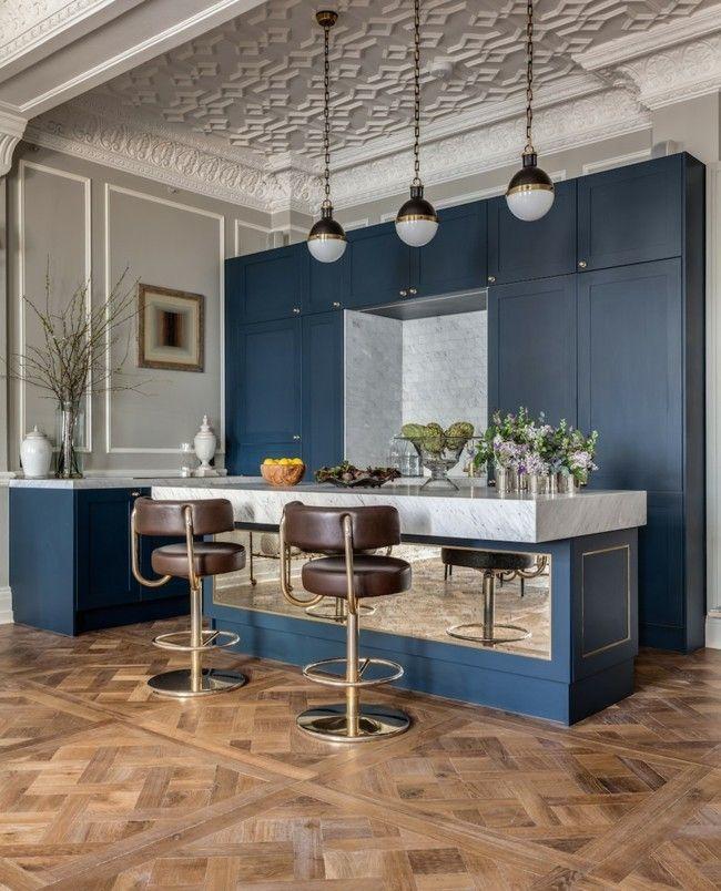 20 trendige Einrichtungsideen für eine praktische Küche, wo man ...