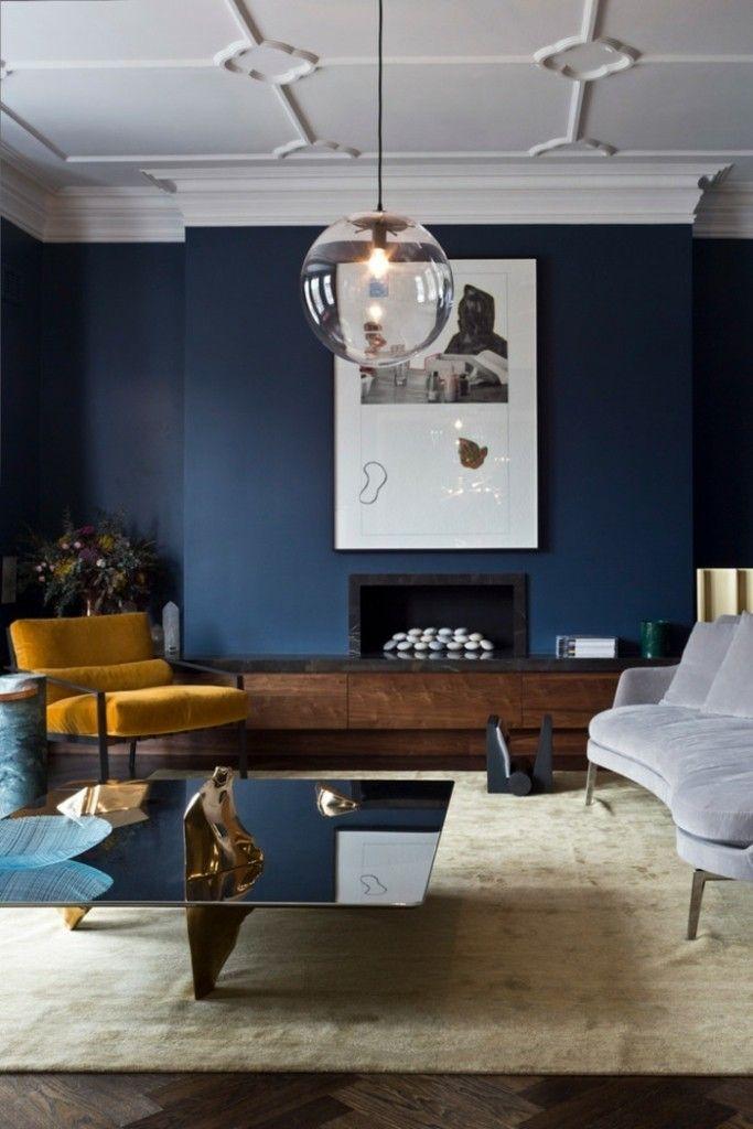 Elegante Wohnzimmer Möbel gelb couchtische
