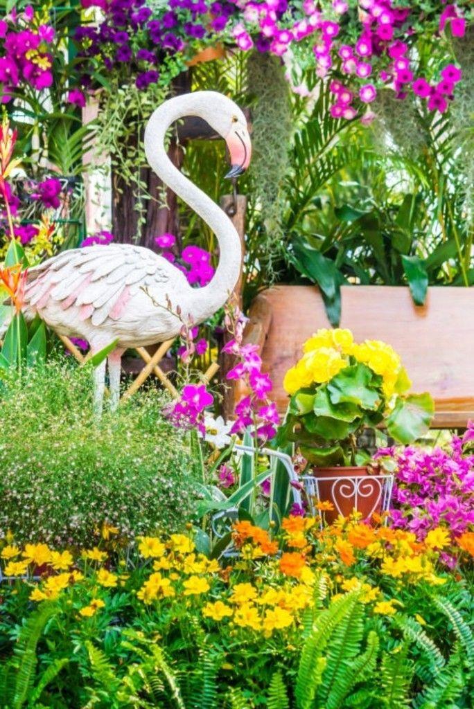 Die Tierwelt ist bei den Gartenfiguren gut vertreten