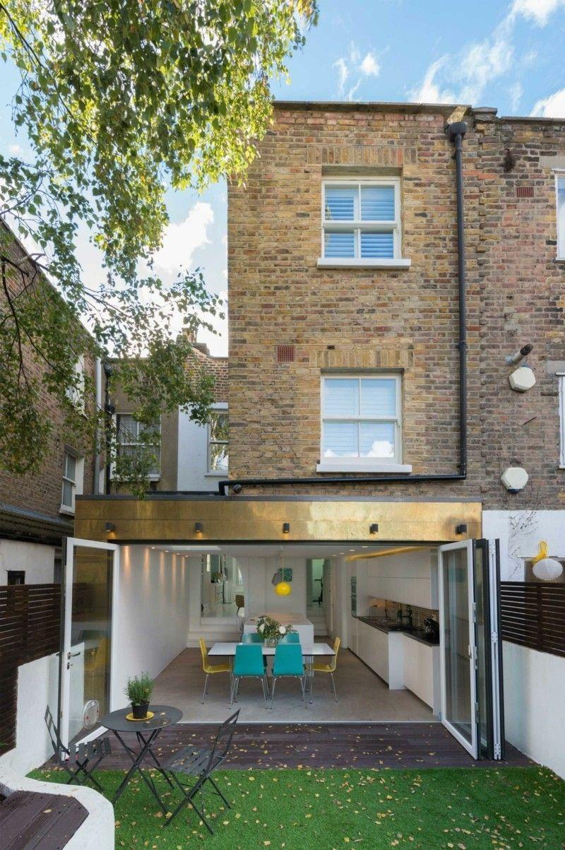 Gartengestaltung goldene Elemente Wohnideen Außenbereich