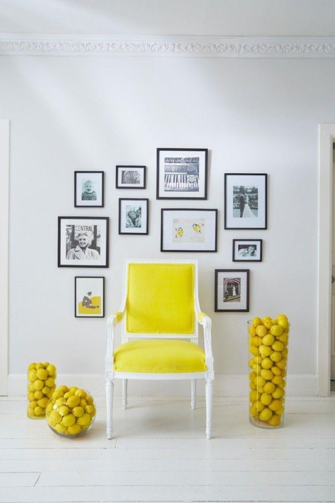 Gelb Polsterstuhl Küchenstuhl