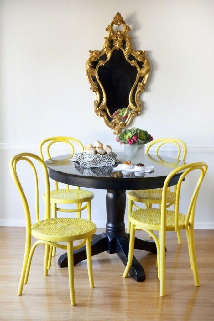Gelb designer stühle esszimmer möbel