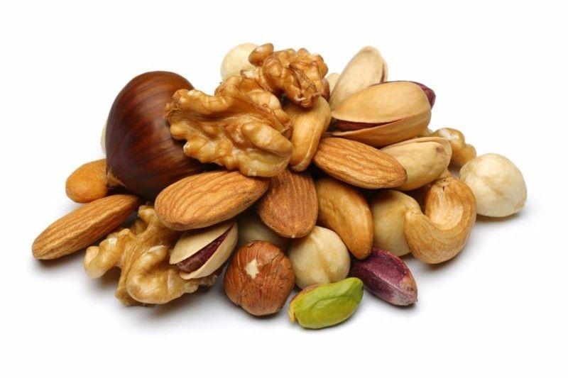 Gesunde Ernährung Nüsse Fettquelle