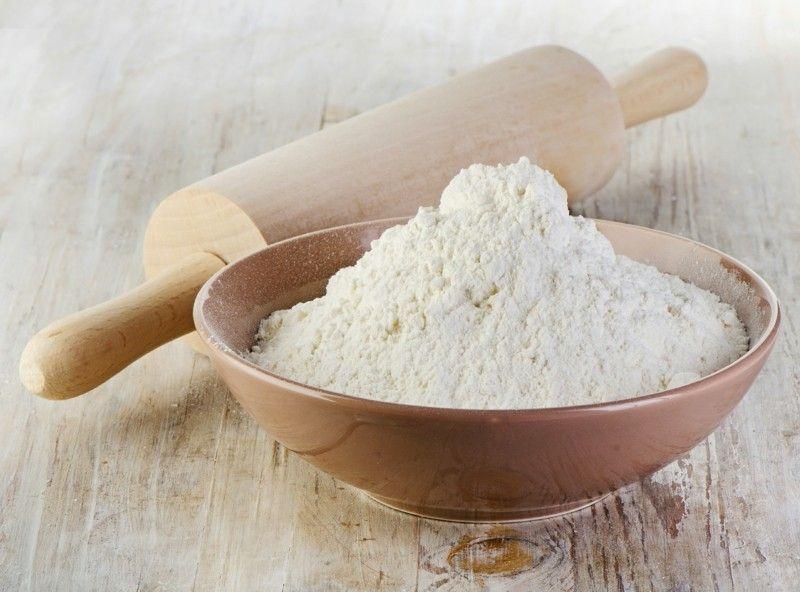 Gesunde Ernährung Weißmehl Rollholz