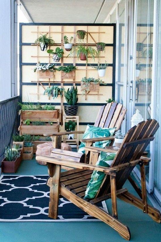 Grüne Wand Regal für Kräuter und Blumen