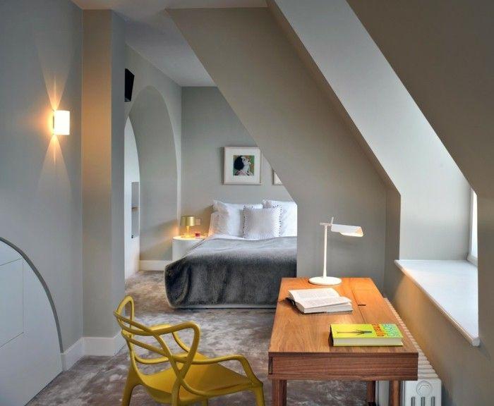verwandeln sie den look ihres zimmers mit einem farbtupfer in gelb. Black Bedroom Furniture Sets. Home Design Ideas