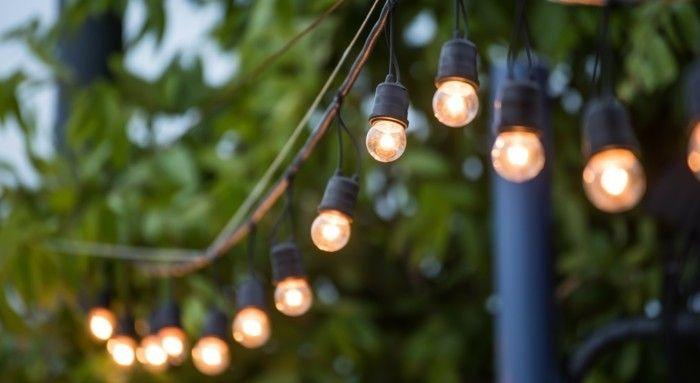 Ikea moderne Garten Beleuchtung