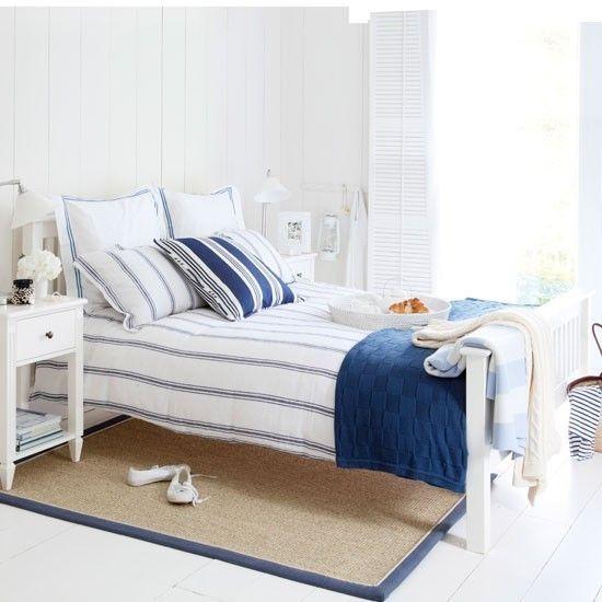 Jugendzimmer Einzelbett Maritime Deko Ideen