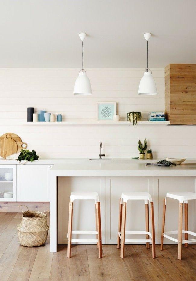 Küche stilvoll Design Einrichtungsideen moderne Pendelleuchte