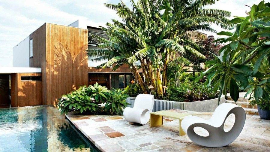 Komfortable Outdoor Möbel Garteneinrichtung
