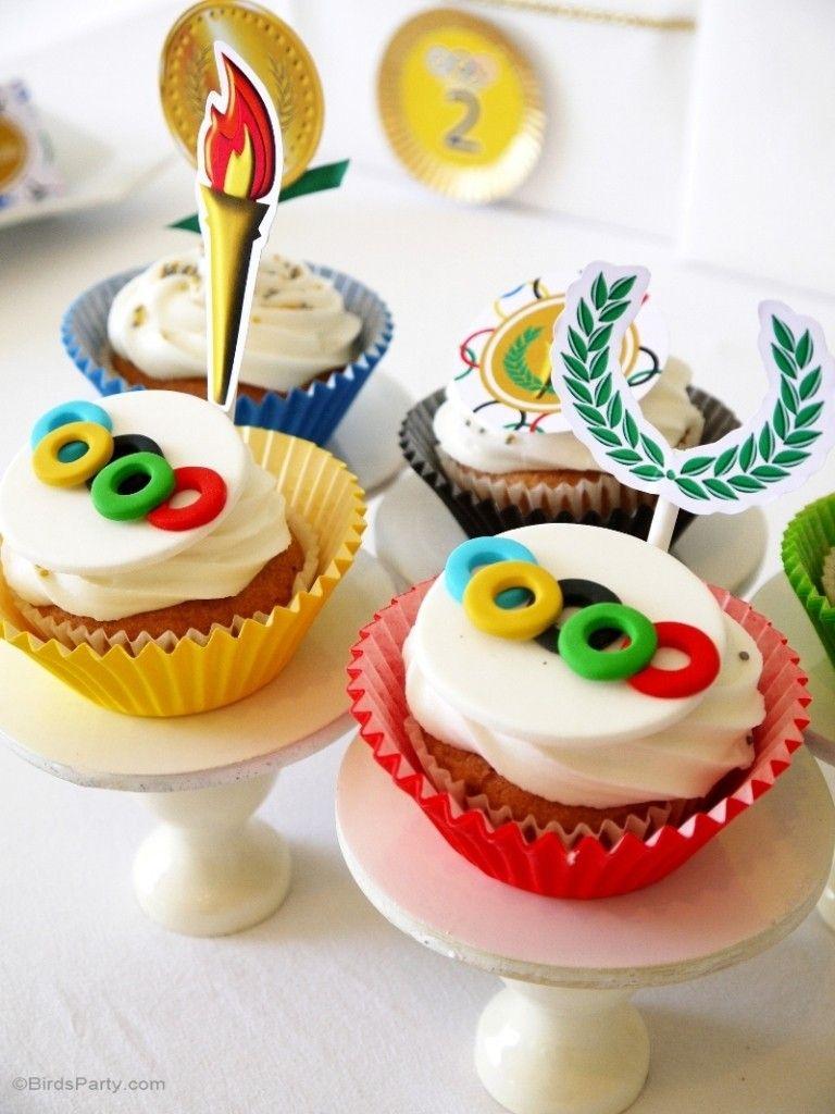 Kuchen und Torten können der Olympiade in Rio 2016