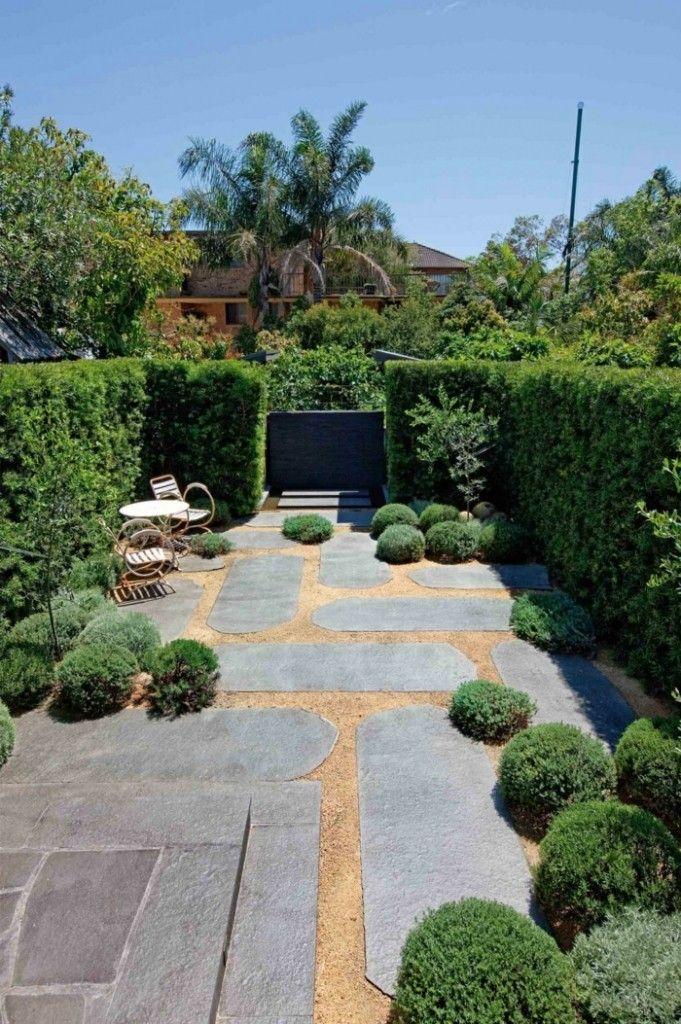 Landschaft moderne Gartengestaltung Ideen