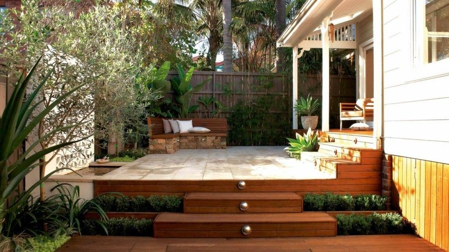 Landschaftsbau ideen für Garten