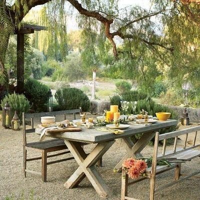 Möbel Garten Sitzgruppe Holztisch