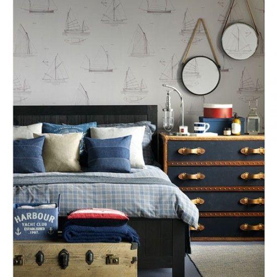 coole maritime deko ideen bringen die sommerliche stimmung in ihre wohnung. Black Bedroom Furniture Sets. Home Design Ideas