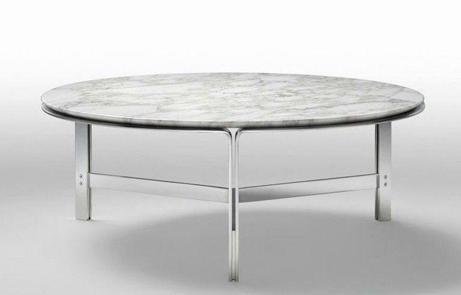 Ausgefallene kleine couchtische stehen hoch im trend for Tischplatte rund marmor