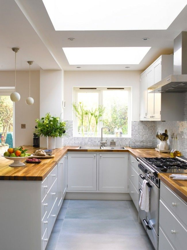 Moderne Küche Stil klassisch Einrichtungsideen