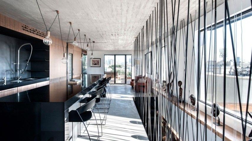 Fesselnd Ein Modernes Penthouse In Tel Aviv, Israel Wurde Vom Studio Toledano +  Architects Als Eine Zeitgenössische Wohnoase Entworfen. Die Zweistöckige  180 Qm Große ...