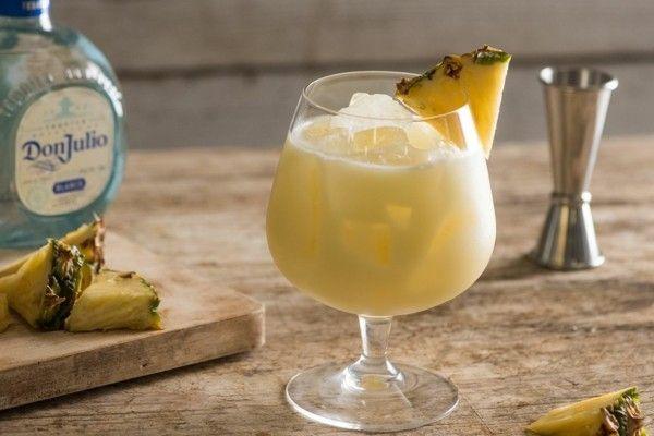 Monkeylada Gartenfest Getränke Ideen Piña Colada Cocktail