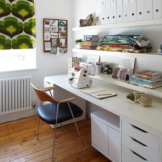 Nähmaschine Modeatelier Atelier Home Office Schneidermaterialien