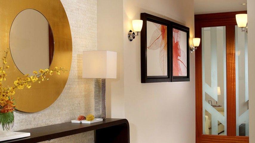 Innenarchitektur Verdienen prächtige interieurs mit metallischen elementen die eine