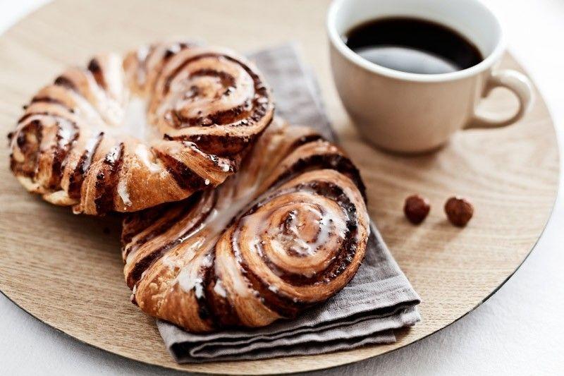 Süßes Gebäck zum Frühstück Gesunde Ernährung