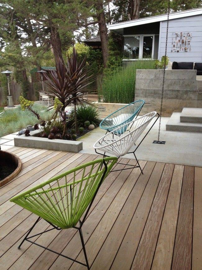 Schöne Designer Gartenmöbel