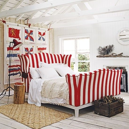 coole maritime deko ideen bringen die sommerliche stimmung. Black Bedroom Furniture Sets. Home Design Ideas